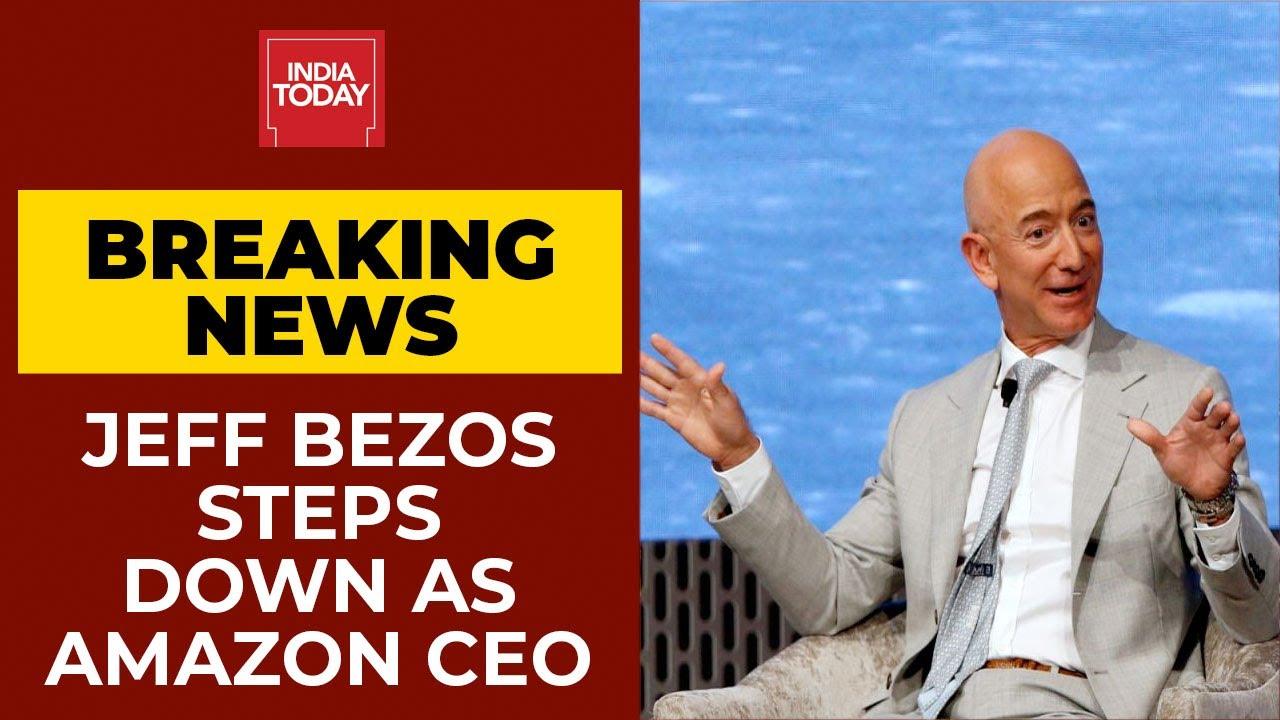 Billionaire Jeff Bezos Steps Down As ...