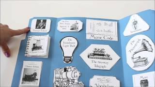 Thomas Edison Unit Study Lapbook Thumbnail