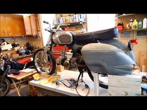 1964 Honda C200 Restoration - Part 1 - YouTube