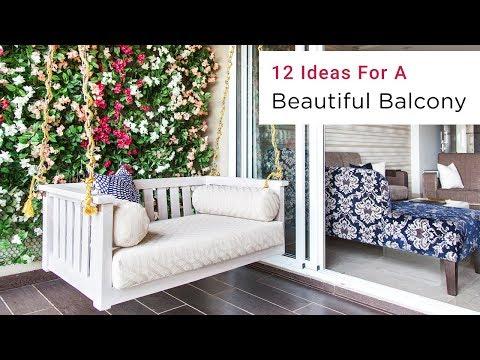 12 Stunning Balcony Decorating Ideas | Livspace Interiors
