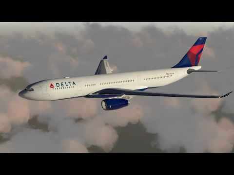 (X-Plane 11) John F. Kennedy to Chicago O'Hare - Airbus A330-200!