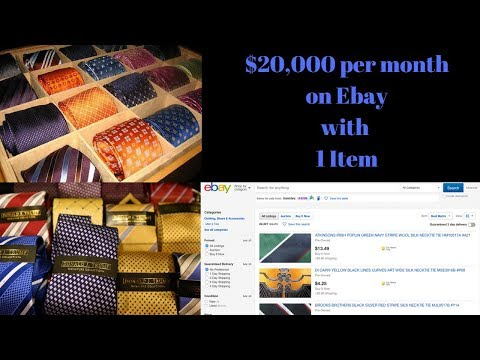 $20k+ a month in sales on Ebay with ONE ITEM !!  HOW ??