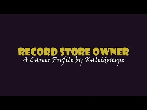 Record Store Owner - Career Profile
