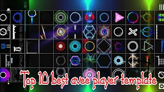 TOP 10 AVEE PLAYER TEMPLATES  Download link By Dj Pankaj Raj