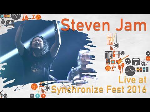 Steven Jam live at SynchronizeFest - 28 Oktober 2016