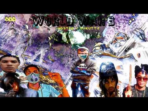 WW3 Dancehall Mix December 2017 Alkaline Popcaan Tommy Lee Masicka Vybz Kartel @DjKuttz 888 Records