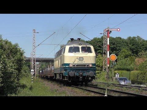 Deutsche Bundesbahn vom feinsten (u.a. mit Lollo, 181 201) (4K)