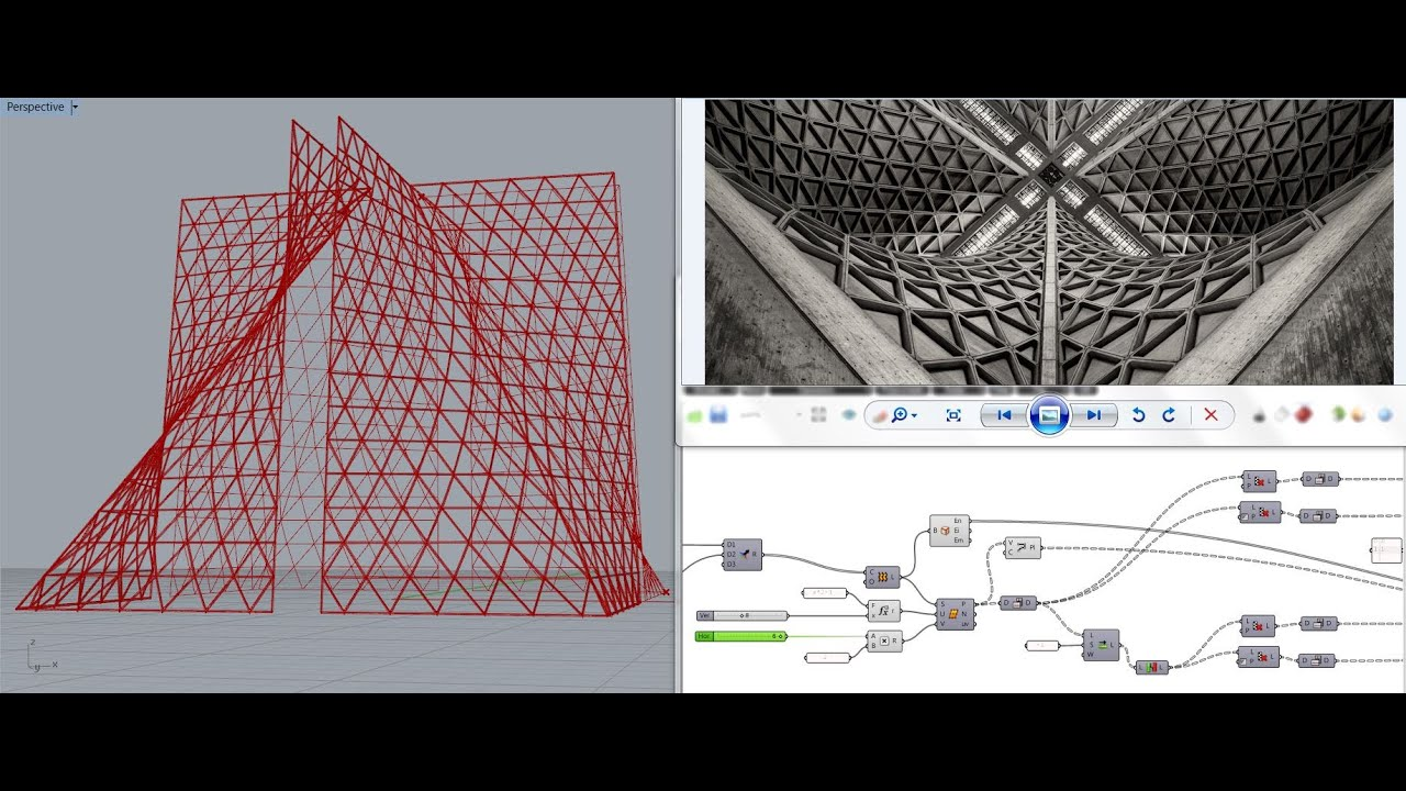 Parametric Hyperbolic Paraboloid Surface Amp Triangular T