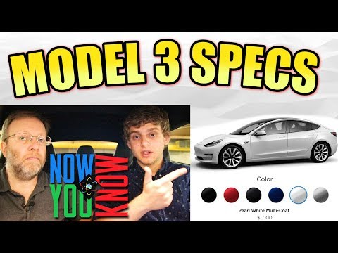 In Depth - Tesla Model 3 Specs!