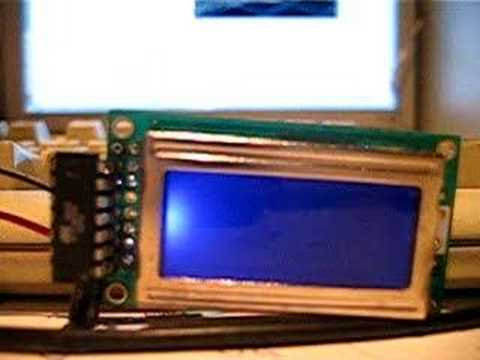 Lcd screen compatible with hitachi hd44780