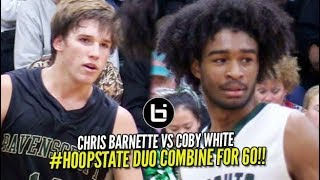 Coby White vs Chris Barnette | Both GO OFF & Combine for 60 Points & 20 Assists!!!