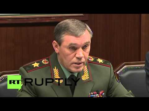 Russia: Austria and Russia's chiefs of general staff discuss terrorism, Syria