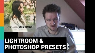 Analog Emotions - Lightroom & Photoshop Presets - Download