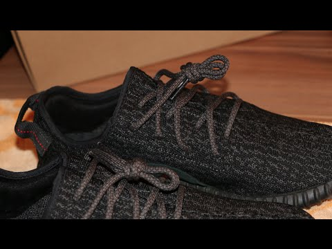 402aad5a5d5 How To Lace Your Adidas Yeezy Boost 350 Like the OG Lacing !! - YouTube