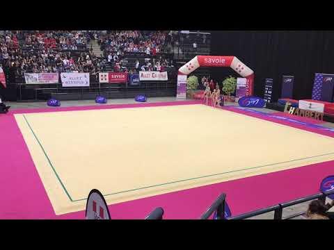 Nat A 10/11 ans championnat de France Chambéry 2018