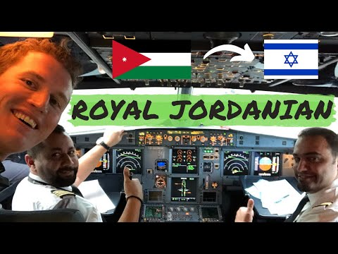 Royal Jordanian To Israel: 20 Minutes In Business Class
