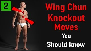 Wing chun knockout moves you should know