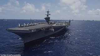 US Military put a SHOW OF US MILITARY POWER with Huge Naval Formation
