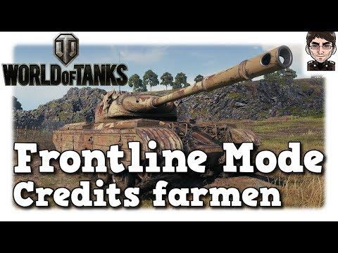 World of Tanks - Frontline Modus, Credits farmen [deutsch | gameplay]