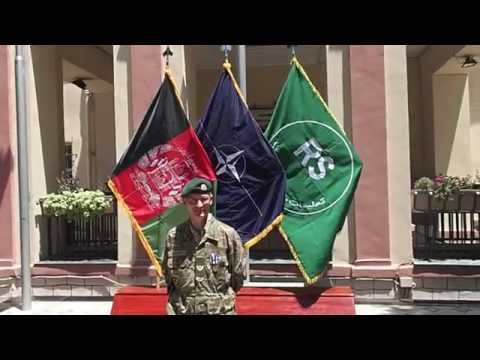 Hjemmeværnet: Mød En Af Hjemmeværnets økonomiske Rådgivere I Afghanistan
