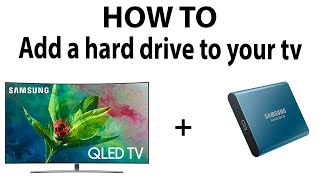 HOW TO: Add a external hard drive to your TV thumbnail