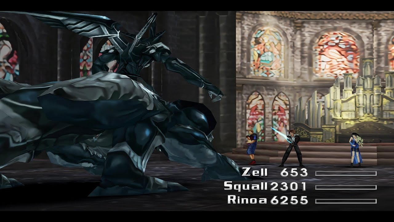 Final Fantasy VIII w/HD Mods (PC/Steam) - Omega Weapon