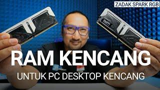 PC Gaming Jadi Kencang dan Keren: Review RAM ZADAK SPARK RGB DDR4 4133