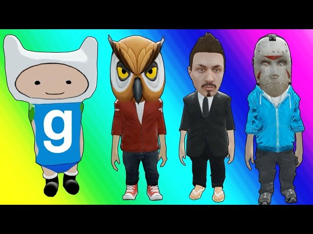 Gmod Hide and Seek - Little Character Edition! (Garrys Mod Funny Moments)