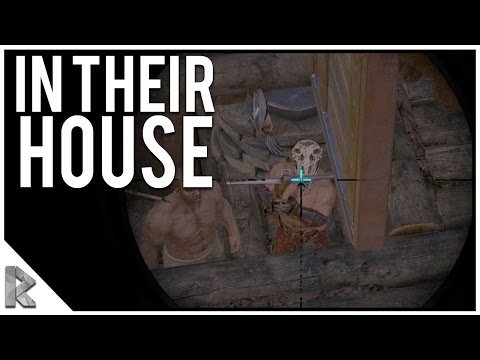 THEY'RE INSIDE - GRENADE RAID! - Ark Survival Evolved Thieves Island PVP #20
