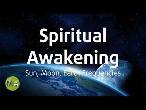 Spiritual Awakening Isochronic Tones and Binaural Beats - Sun, Moon & Earth Frequencies