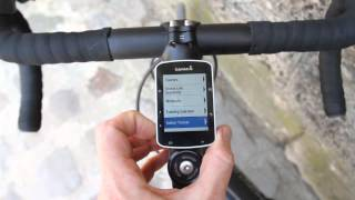 Hands-on walk-through of Garmin Edge 520