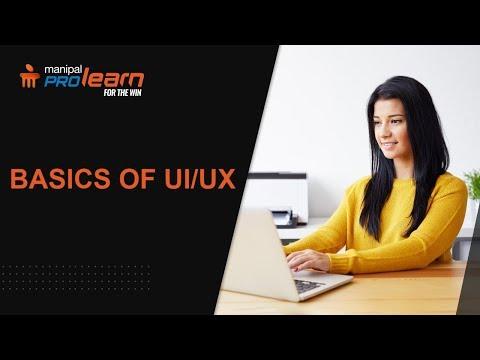 UI UX Design Course | ux/ui | ux design | ui design | experience design course | Manipal ProLearn