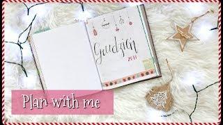 [BULLET JOURNAL]   Zaplanuj ze mną GRUDZIEŃ 2017