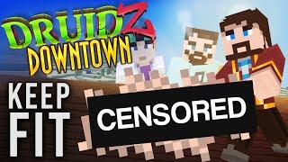 Minecraft Mods Druidz Downtown #92 - Keep Fit