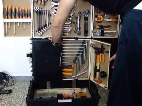 Scatola porta utensili attrezzi autocostruita youtube - Scatole porta viti ...