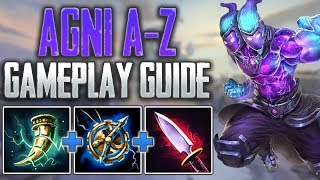 Agni Gameplay Guide | How to Carry with Agni! - SMITE A-Z Conquest