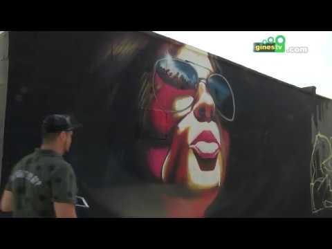Más de 100 artistas de calle participaron en el VIII Encuentro de Grafiteros Homenaje a BECE