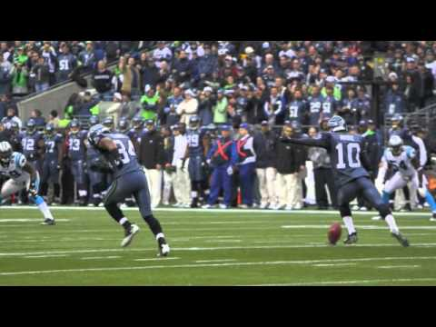 Chad Brownlee sings at the Seattle Seahawks NFL game