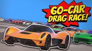 GTA 5 | DRAG RACE with 60 CARS!