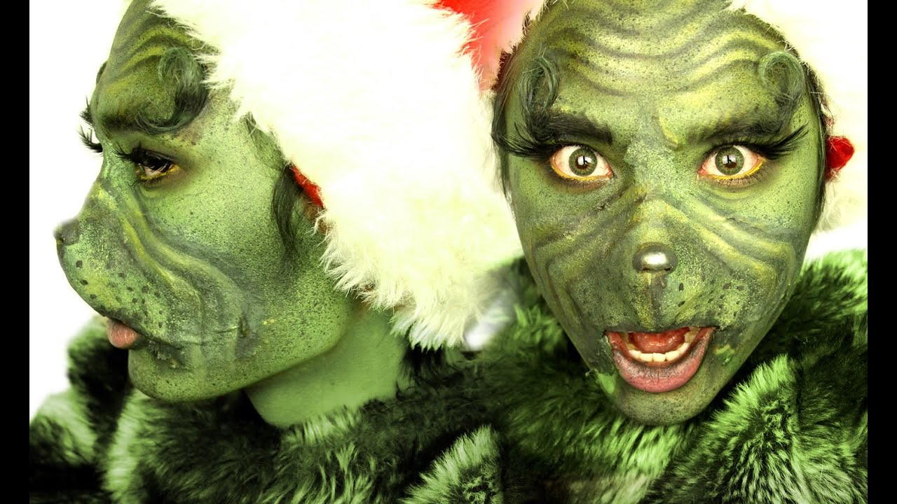 The Grinch Makeup Transformation Theprinceofvanity