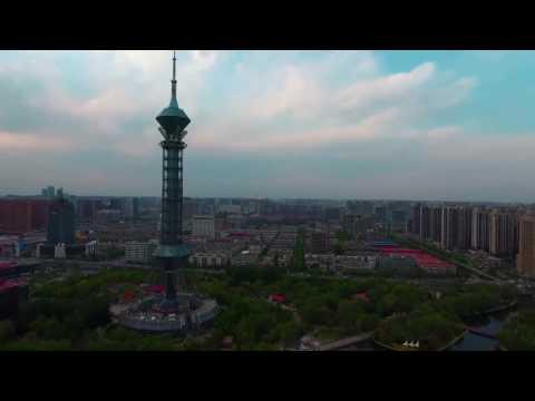 China Shijiazhuang City (→_→)终于找到国际庄航拍了 石家庄市(河北省)