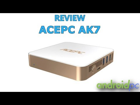 REVIEW: ACEPC AK7 un mini PC con procesador Intel Celeron