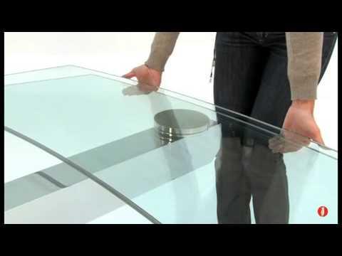 www.calligaris-store Table extensible en Verre COSMIC