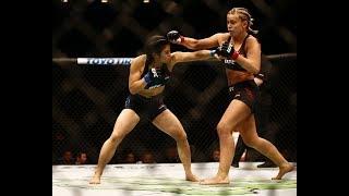 Paige VanZant vs Racheal Ostovich - UFC Fight Night 143 Brooklyn -  Full HD Fight Recap & Pro Review