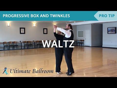 Waltz: Progressive Box & Twinkles - Ballroom Dance Lesson