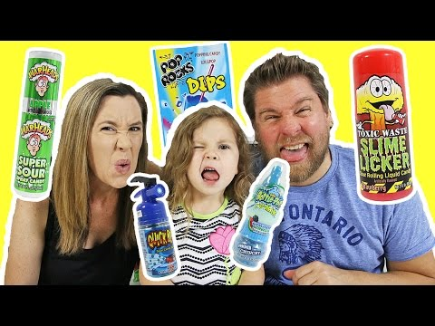 Five Below Candy Taste Test - Toxic Waste, War Heads, Baby Bottle Pop, Pop Rocks