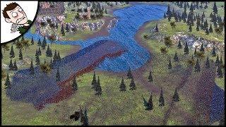 Massive 24000 Scotland v England Battle of Bannockburn - Ultimate Epic Battle Simulator Gameplay