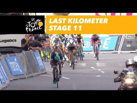 Last kilometer - Stage 11 - Tour de France 2017