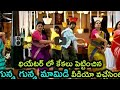 Gunna Gunna mamidi DJ song - dance by one year old twins