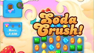 Candy Crush Soda Saga Level 134 Strategy No Booster